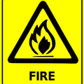 safety sign fire