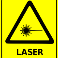 safety sign laser