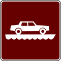 recreation sign ferry