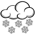 lineart-snow-cloud
