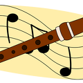 recorder-music-notes