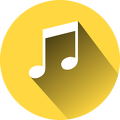musical-note-yellow
