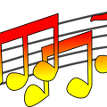 music-notes-red-yellow