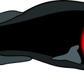 black-red-fish