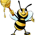 Cartoon-Honey-Bee