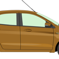 brown-hatchback